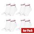 Tommy Hilfiger Socken 4er Pack QUARTER Weiß (1)