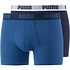 Puma Boxershorts 2er Pack Retropants Dunkelblau/Marine