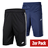 Nike Shorts Tribute 2er Set Schwarz/Blau (1)