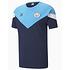 Puma Manchester City T-Shirt Show Blau (1)