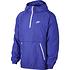 Nike Schlupfjacke Windstopper mit Zip Violett (1)