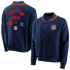 Fanatics NFL Shield Jacke True Classics Letterman navy (1)