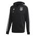 Adidas Deutschland DFB Zip Hoodie EM 2021 Schwarz (1)
