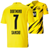 Puma Borussia Dortmund Heim Trikot SANCHO 2020/2021 Kinder (1)