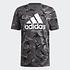 Adidas T-Shirt CAMO AOP Grau (1)