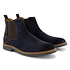 TRAVELIN OUTDOOR Boot Glasgow Suede Chelsea blau (1)