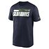 Nike Seattle Seahawks T-Shirt Team Name Sideline navy (1)