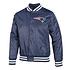 New Era New England Patriots Bomberjacke Wordmark blau (1)
