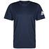 Adidas T-Shirt Fitness Blau (1)