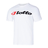 Lotto T-Shirt Athletica Due Logo weiß (1)