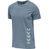 hummel T-Shirt Duncan Bio-Baumwolle china blue