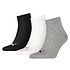 Puma Socken 3er Pack Low SW/Grau/Weiß