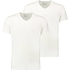 Puma T-Shirt 2er Pack V-Neck Weiß