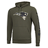 New Era New England Patriots Hoodie Camo Injection grün