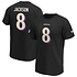Fanatics Baltimore Ravens T-Shirt Iconic N&N Jackson No 8 schwarz (1)