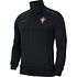 Nike Portugal Track Jacket EM 2021 Schwarz