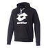 Lotto Hoodie Smart FT LB schwarz/weiß
