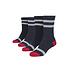 URBAN CLASSICS Socken Multicolor navy/weiß/rot (1)