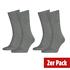 Tommy Hilfiger Socken 2er Pack ICONIC CLASSIC Grau (1)