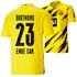 Puma Borussia Dortmund Heim Trikot EMRE CAN 2020/2021 Kinder (1)