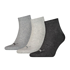Puma Socken 3er Pack Low SW/Grau/Anthrazit