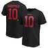 Fanatics San Francisco 49ers T-Shirt Iconic N&N Garoppolo No 10 schwarz (1)