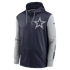 Nike Dallas Cowboys Kapuzenjacke Therma Left Chest Mascot navy/silber (1)