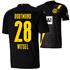 Puma Borussia Dortmund Auswärts Trikot WITSEL 2020/2021 Kinder (1)