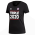 Adidas FC Bayern München T-Shirt Triple Sieger 2020 Damen Schwarz