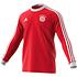 Adidas FC Bayern München Langarmshirt Retro Kaiser 5 Rot (1)