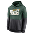 Nike Green Bay Packers Hoodie Team Lockup Therma tanne/grau (1)