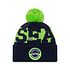 New Era Seattle Seahawks Beanie On Field Sport Knit blau (1)
