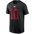Nike San Francisco 49ers T-Shirt Player Garoppolo 10 schwarz (1)