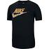Nike T-Shirt Flaggen Schwarz (1)