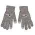 Forever Collectibles New England Patriots Strickhandschuh Gray grau (1)