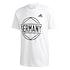 Adidas Deutschland T-Shirt GERMANY EM 2021 Weiß (1)