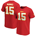 Fanatics Kansas City Chiefs T-Shirt Iconic N&N Mahomes 15 rot (1)