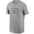 Nike Los Angeles Dodgers T-Shirt Color Bar grau (1)
