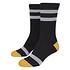 URBAN CLASSICS Socken Multicolor schwarz/gelb/weiß (6)