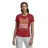 Adidas FC Bayern München T-Shirt CL Sieger 2020 Damen Rot (6)
