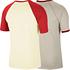Nike Wende-T-Shirt VINTAGE Beige (6)