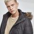 URBAN CLASSICS Winterjacke Faux Fur Hooded schwarz (6)