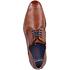 Bugatti Businessschuh Glattleder cognac (6)