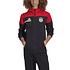 Adidas FC Bayern München Kapuzenjacke Fleece ZNE 2020/2021 Rot (6)
