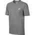 Nike T-Shirt CLUB Futura 3er Set Dunkelblau/Blau/Grau (6)
