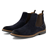 TRAVELIN OUTDOOR Boot Glasgow Suede Chelsea blau (6)
