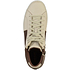 GEOX Sneaker High Nappaleder white/coffee (6)