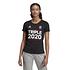 Adidas FC Bayern München T-Shirt Triple Sieger 2020 Damen Schwarz (6)