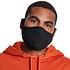 URBAN CLASSICS 4er Set Mund-Nase Maske Erwachsene Blanko schwarz (5)