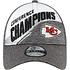 New Era Kansas City Chiefs Cap Conference Champion 9FORTY grau (5)